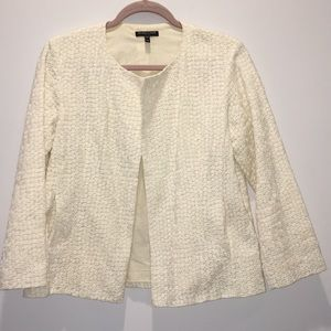 Eileen Fisher Ivory jacket size PM